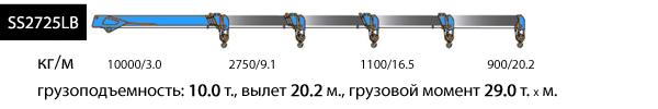 SS2725LB, верхнее управление, 4 опоры
